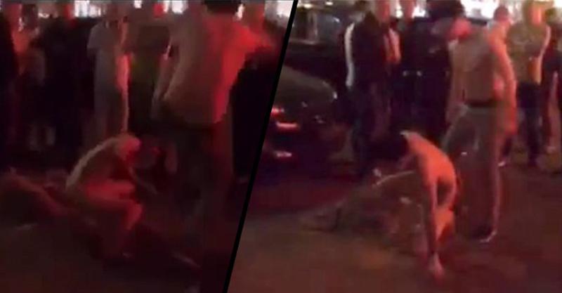 氣瘋的老公捉姦在床把尖夫直接踹到街上還不停狂踢,他們的對話已經比8點檔還要驚人了!