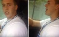 當有朋友在車上唱歌時,只要這樣做絕對可以秒殺友情喔!