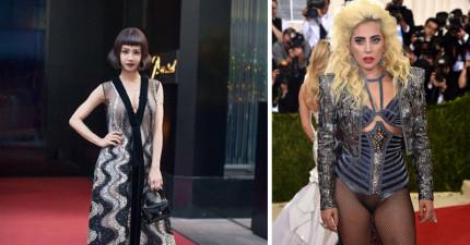 一次看完最時尚晚會2016 Met Gala所有女星的紅毯「科技時尚」!瑪丹娜衣服上兩個大洞已經HOLD她的...