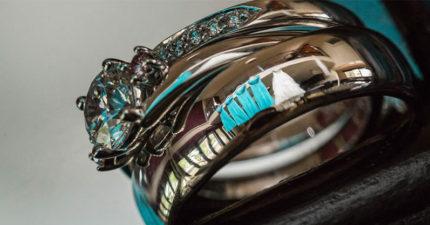 乍看這些戒指真的沒什麼,但一看到亮點後不想結婚的女生都會想要閃婚了!