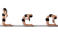 6個只要睡前輕鬆做一下就能「砍掉」你的小腹的超簡單瑜伽動作。