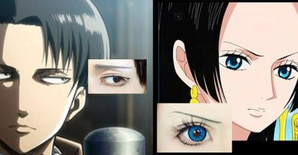 7種可以讓你直接變成漫畫人物的「漫畫隱形眼鏡」,他戴上卡卡西的血輪眼時已經帥爆了!