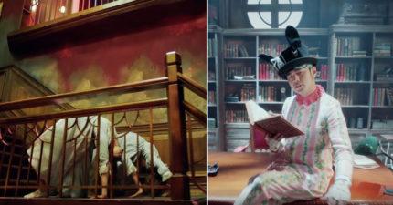 周杰倫最新MV《床邊故事》出現了最恐怖的「大法師舞步」,1:21我覺得這是今年最屌的MV!