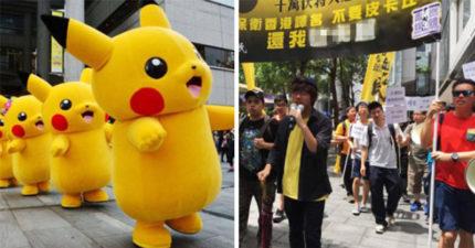 任天堂大改「皮卡丘名稱」,難聽到香港粉絲憤怒上街抗議「還我舊名」!