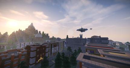 這個Minecraft地圖是「1500玩家耗費5年打造」,超壯觀導覽影片「比台北還大」時真的只能跪在螢幕前了!