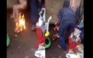 這位兇殘的繼父為了懲罰直接火燒3歲男童的下體!「背後原因」讓人大喊不配當人啊!