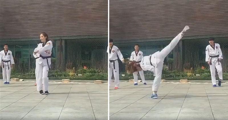 我一直以為跆拳道是用來打鬥用的,但沒想到韓國人把它變成了「超性感的舞步」!