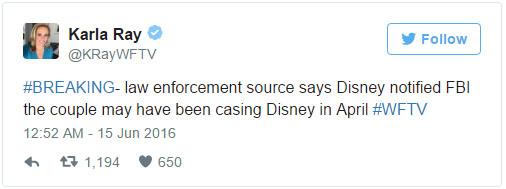 其實在今年4月迪士尼樂園就已經預言「奧蘭多槍擊案」,但警方沒有當一回事。