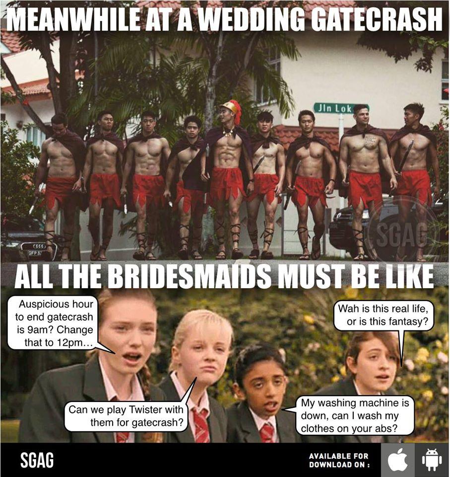 澳洲大街上居然出現「肌情斯巴達壯士」去迎娶美麗的新娘,網友一看瞬間懷孕喊「抱緊處理」!