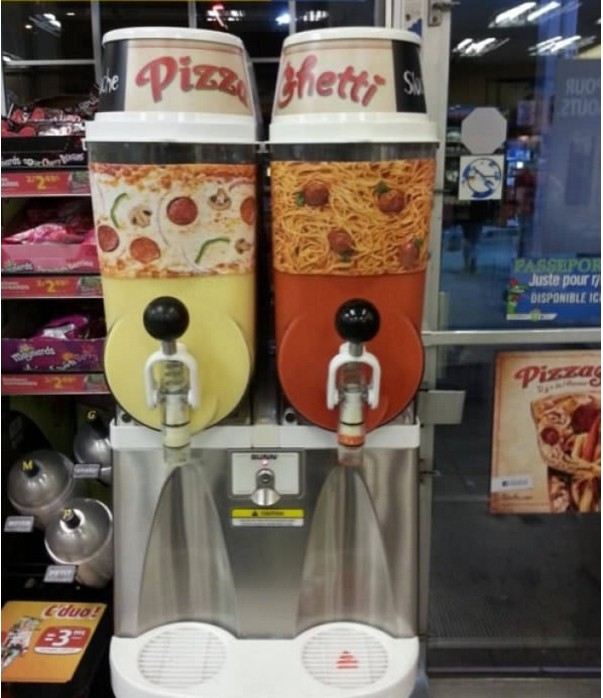 17個已經快讓地球人滅絕的「完全不該存在這世界上的奇怪口味」,連比薩和義大利麵都拿來做成思樂冰?!