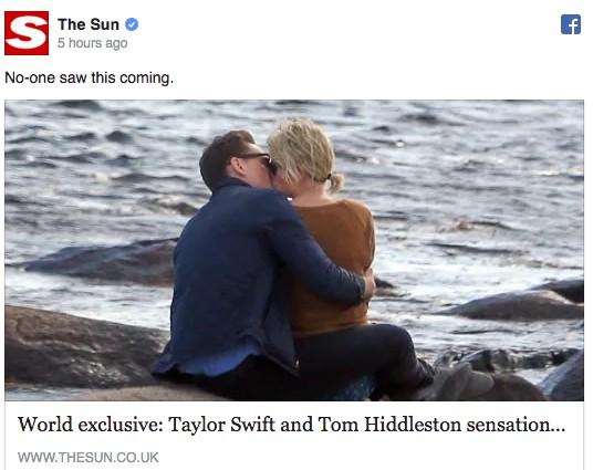 泰勒斯2周前才跟凯文哈里斯分手,现在居然被拍到跟这位「全球男神」在海边激吻!(有人已经哭惨了)