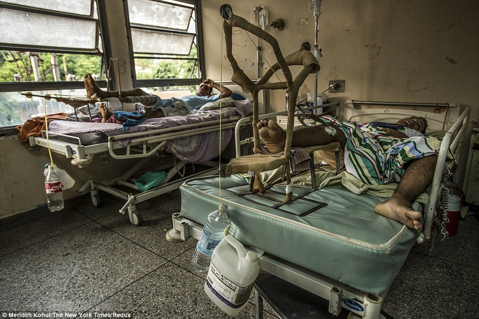 委內瑞拉總統妄自稱擁有「世界第一醫療」,但看過後認為「去醫院死得可能還比較快吧?」