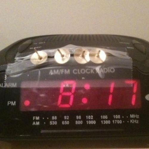 The alarm that makes absolutely sure you wake up.