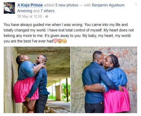 她貼出右邊這張「和男友的訂婚照」後被很多網友酸到爆,但她的霸氣回應會讓你知道娶到她比中樂透還要賺!