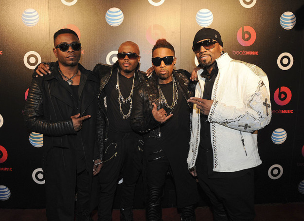 ...and Blackstreet in 2014.