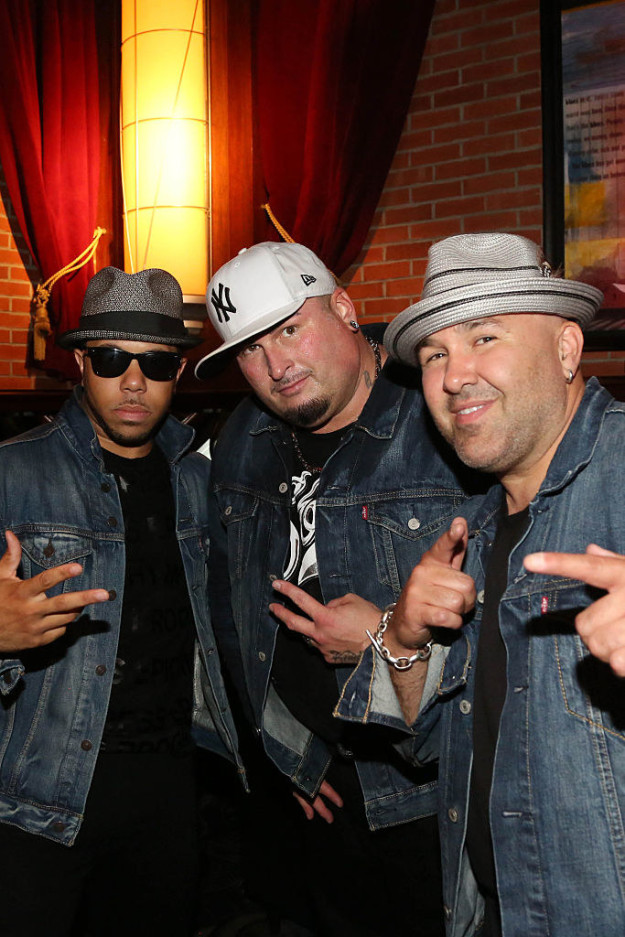 And Color Me Badd in 2016, minus Sam Watters (the guy who looks like Kenny G).