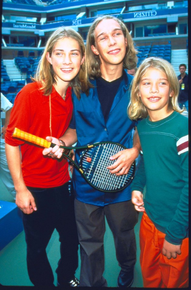 Hanson in 1997 at the U.S. Open.