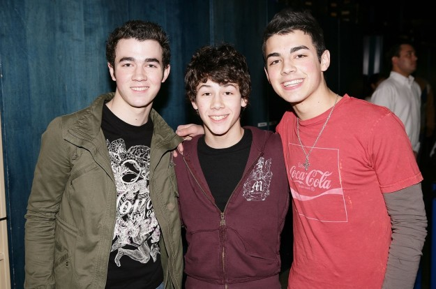 The Jonas Brothers in 2006.