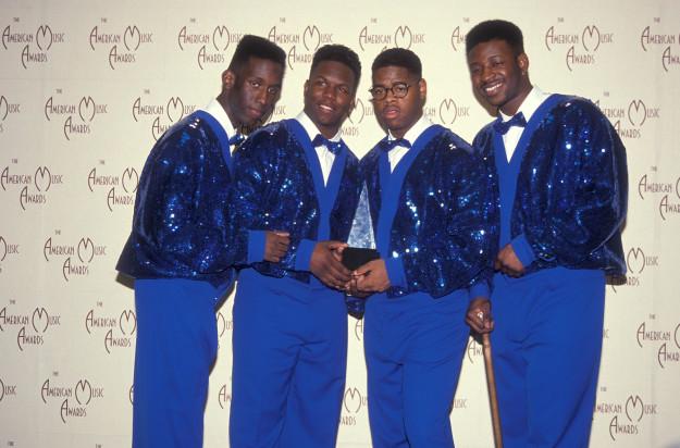 Boyz II Men in 1992.