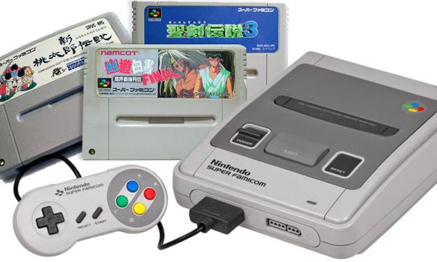 He rents you Japanese Super Nintendo games.