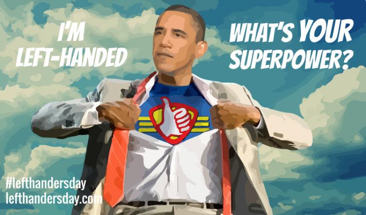 Obama-LeftHanded