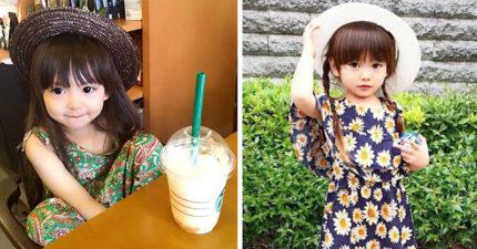 時尚指數破表可愛小蘿莉在日本爆紅,「超正媽媽和型男爸爸」老天爺太不公平了!