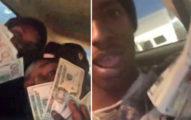 2個史上最笨小偷闖空門後,以為警察抓不到就「一邊偷錢一邊開直播」跟網友炫耀。