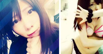 這名皮膚比女生還要白皙的「日本可愛偽娘」公開過去照片,女裝前「跟巨石強森一樣MAN」讓網友都看傻眼了…