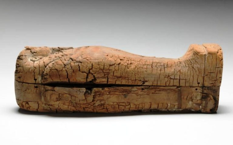 這個出土超過一世紀「43公分的小木棺」,裡面居然找到了史上最驚人的「最小型人類木乃伊」!