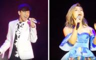 林俊傑在李佳薇的演唱會上以原Key飆高音唱《煎熬》讓所有觀眾瘋狂,高到連女生可能都拉不到這麼高!