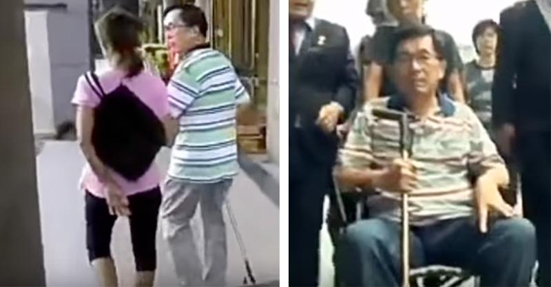 前總統陳水扁被拍到早上很健康的在散步,但下午在記者前卻又忽然變成了無法走路需要坐輪椅的病人...