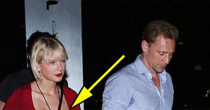 網友們看完小天后泰勒絲最近的照片後,極度懷疑她不只換了男友,胸部好像也大大升級E乳了!