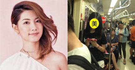網友神出捷運「小林韋君」清新正妹,知道「她的真實身份」發現她根本就是人生勝利組啊!