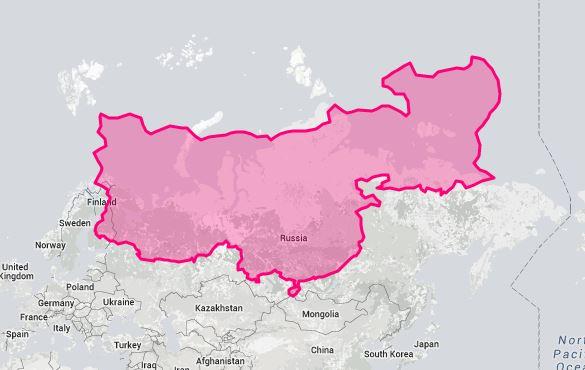 14張「其實你一直都被地球騙慘」真實土地大小圖 當把台灣跟日本比時...原來台灣一點都不小!