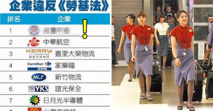 「台灣10大血汗企業」黑名單曝光!華航麥當勞都上榜了,第1名竟然是你每天都會遇到的...!