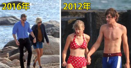 泰勒絲跟湯姆希德斯頓用光速發展,但最近已經「這些證據照片」已經證明居然只是在拍MV!