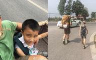 這名中國爸爸「身上只有500塊」就帶8歲兒子走700公里旅程,聽完背後原因你才知道台灣教育錯在哪!