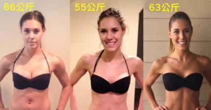 這位媽媽「瘦2公斤跟瘦11公斤」的照片差別,證明「你一直看體重計上的數字」就別想擁有好身材了!