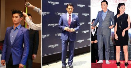 7位最帥但身高其實沒你想像中高的男明星,謝霆鋒居然只有...!