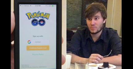 他女友一打開男友的「Pokemon GO」才驚覺「原來男友跟前女友出軌了!」,不忠男都嚇壞了!