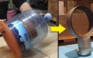 「500元以下材料」自製Dyson的2萬無葉風扇。剛開始看起來很遜但最後絕對物超所值啊!