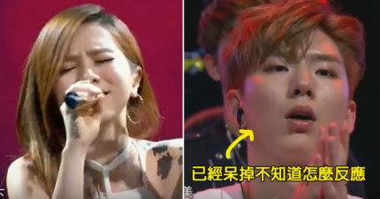 鄧紫棋這次將BIGBANG團員的歌《眼鼻嘴》翻唱成中文版,一開口唱韓國人超吃驚只差口水沒流出來!