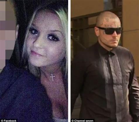 他嗑藥後跟女友說「我會在車禍中殺了你」,最後能看到的就是他臉上的「惡魔刺青」...