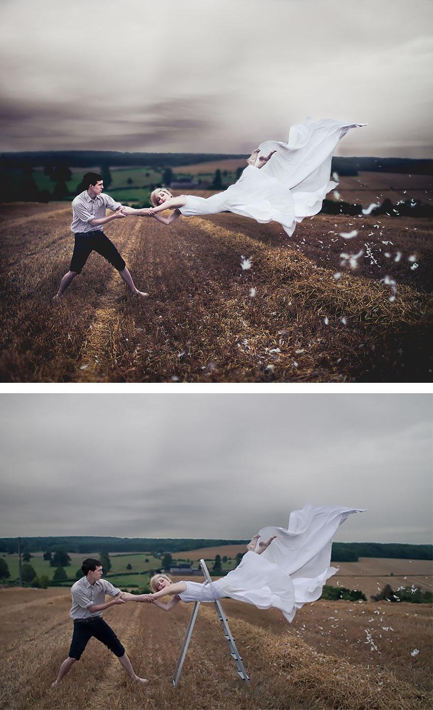 35張證明「攝影師絕對是世界上最偉大職業」的幕後照片