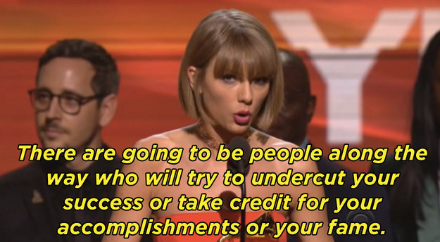 She also said this during a Grammys acceptance speech, the day after Kanye's album dropped.