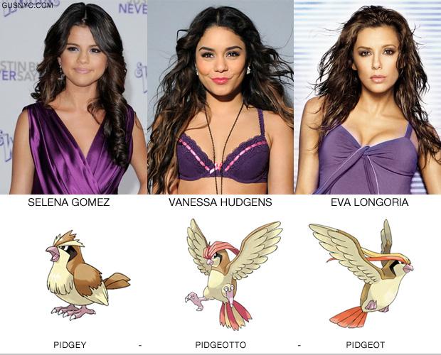 18張照面證明「好萊塢明星其實都是神奇寶貝」的明星進化寶典!