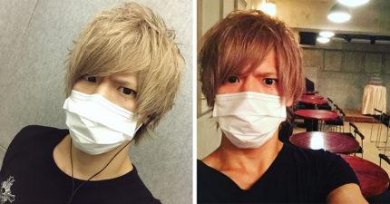 日本東大帥哥「口罩不離身」引關注 脫下口罩卻讓網傻眼:還是戴上好了!