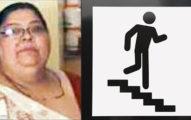 這名68歲的印度婦人體重高達128公斤,沒想到有天一不小心就把老公給活活壓死了。