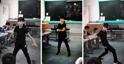 班上同學都笑他跳芭蕾舞很娘娘腔,但接著音樂一Play全班男生全都閉嘴戀愛了!