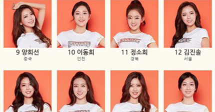 今年韓國34位選美佳麗一曝光,但顏值都一樣網友說「是考驗評審眼力的比賽吧」。但第一名是很漂亮!